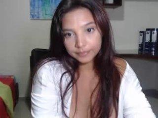 nebyula_star spanish cam girl rubs her shaved pussy nice on camera