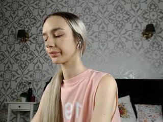 evasun blonde cam girl enters world of BDSM fantasy, ohmibod, sexual submission and rough anal sex