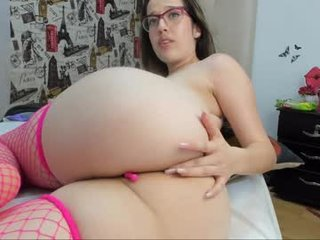 sofy_fire cam girl uses two sex toys to please her sweet ass
