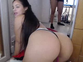 natalie_ferrer6 cam girl uses two sex toys to please her sweet ass