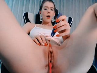 heyhorny_cb blonde cam girl dominated with ohmibod online