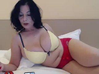 angell6969 brunette cam mature permits to creampie her tight coochie