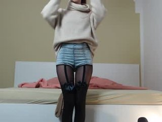 redheadsonja cam girl squirting with ohmibod online in the chatroom