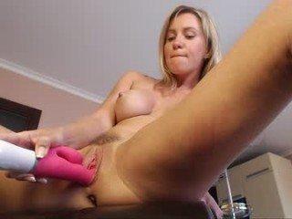 hotkatness russian cam girl in fishnet stockings fucks her anal with dildo