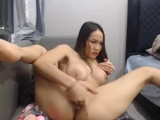 lucynuty dildo in wide anal hole