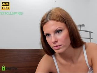 lovelydoll01 european cam babe offers her shaved pussy for live sex experiments online