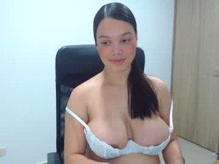 milabritton1 brunette pregnant cam girl enjoys hot self-masturbation with ohmibod