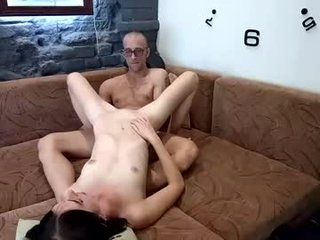 sexcouplework russian cam girl playing with her juicy pussy while nobody is around to help her out with that