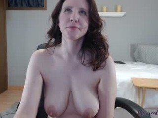 the_real_thing04 brunette cam girl dominated with ohmibod online